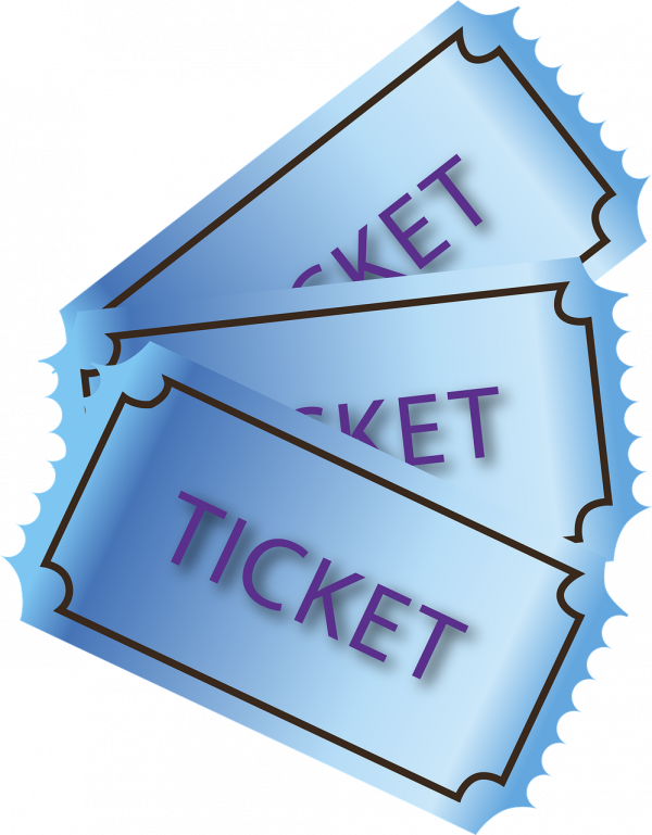 entries, ticket, paper